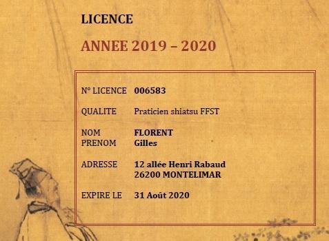 Licence FFST 2019-2020