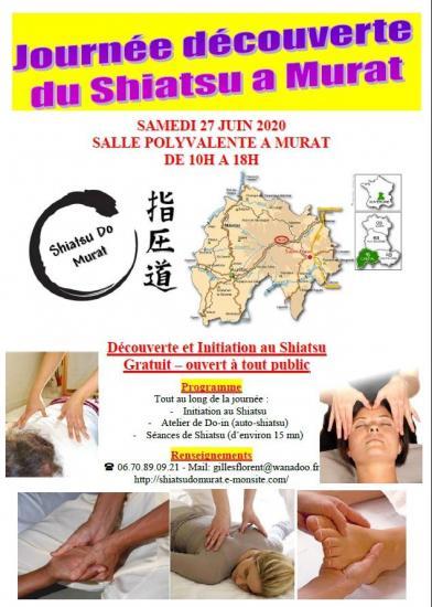 Plaquette journee du shiatsu samedi 27 juin 2020