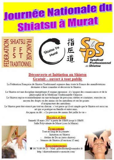Plaquette journee nationale du shiatsu 2